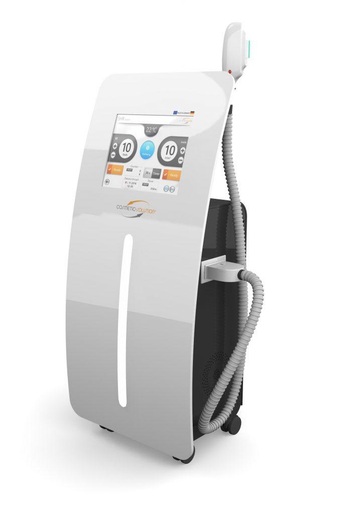 Tio Plus SHR-IPL Gerät für dauerhafte Haarentferung