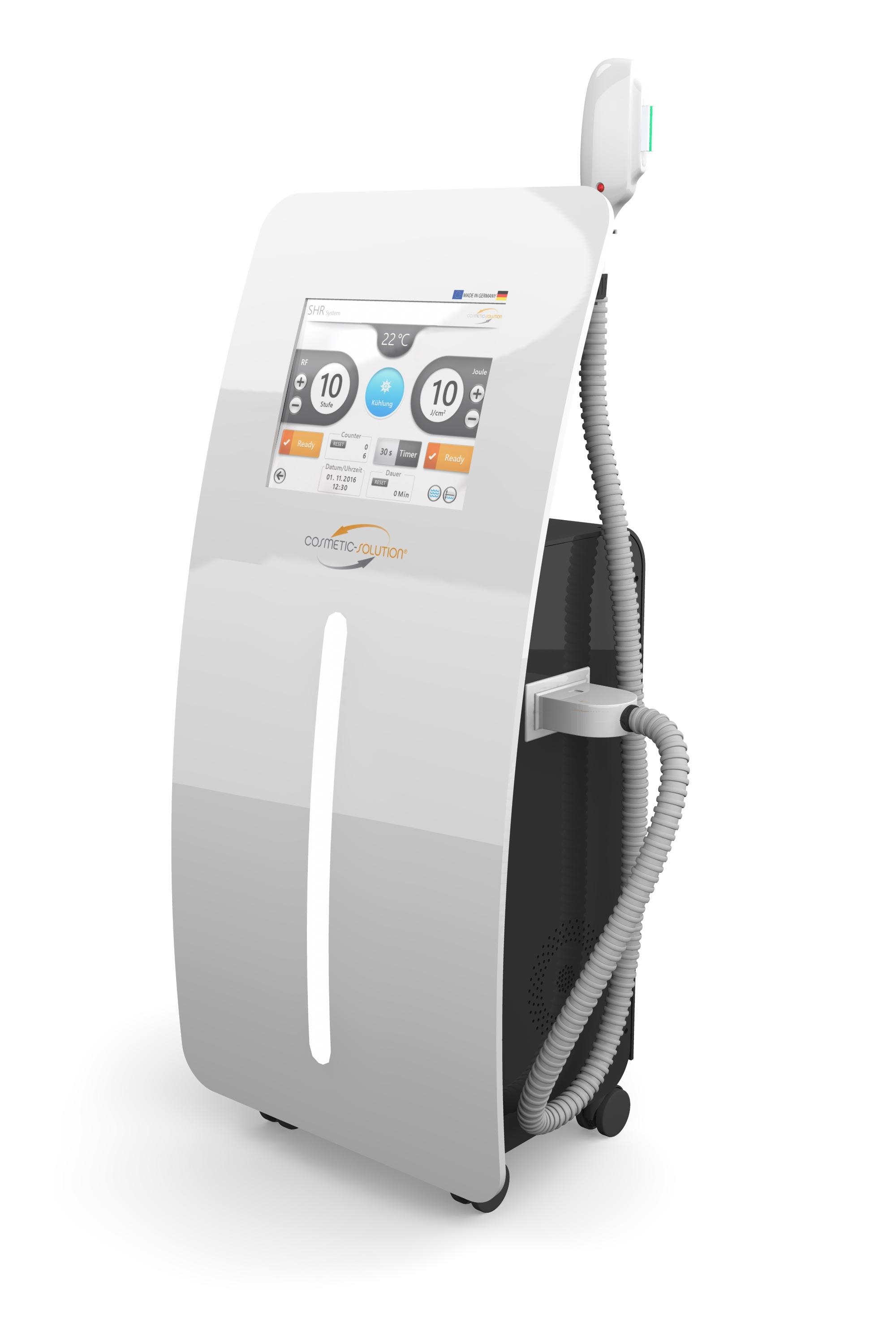 Tio Plus SHR-IPL device for permanent hair removal