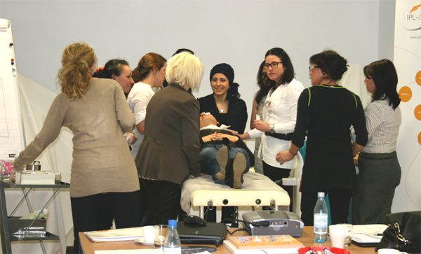 SHR / IPL Schulung Teilnehmer Praxis