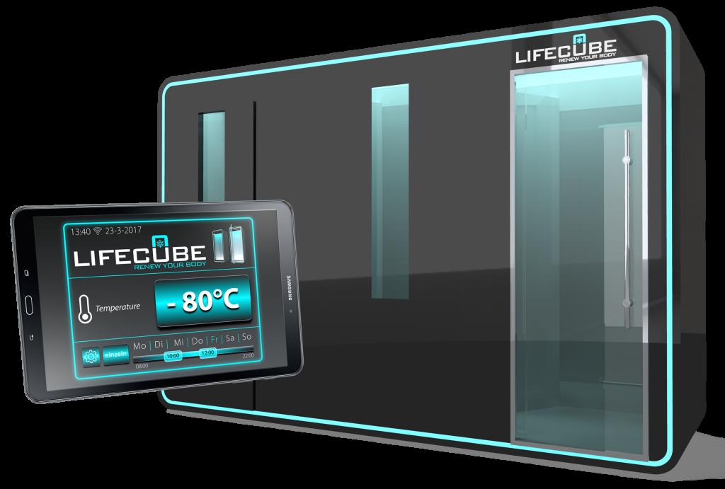 Lifecube Kältekammer 3-Raum