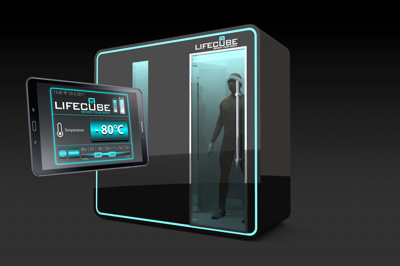 Lifecube Kältekammer 2-Raum