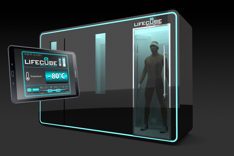 Lifecube Kältekammer 3-Kammer-System