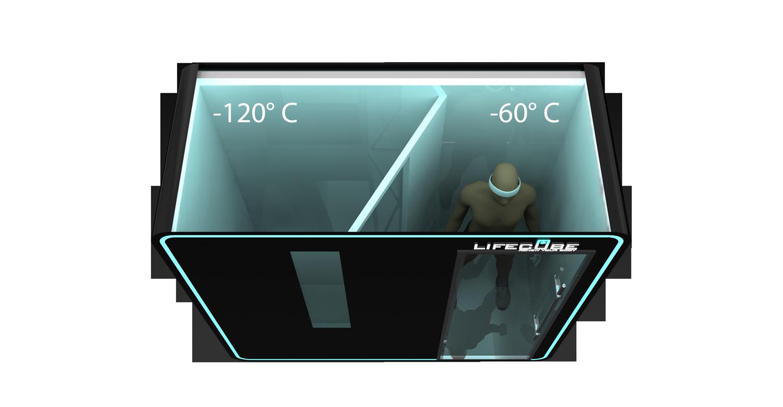 Lifecube Kältekammer 2 Temperaturen