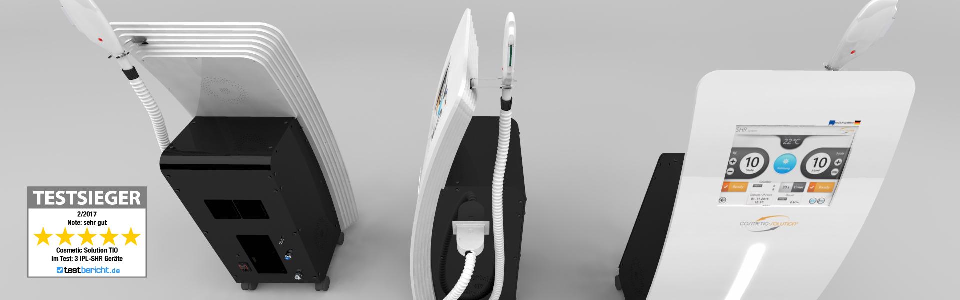 Tio IPL-SHR Geräte Dauerhafte Haarentfernung