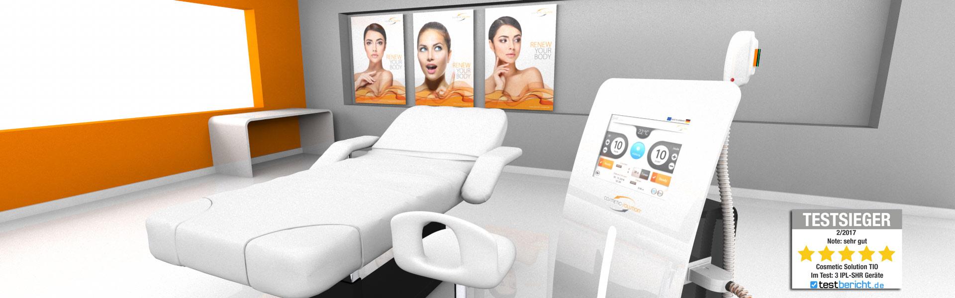 Tio Plus SHR-IPL Gerät für dauerhafte Haarentferung im Kosmetikstudio