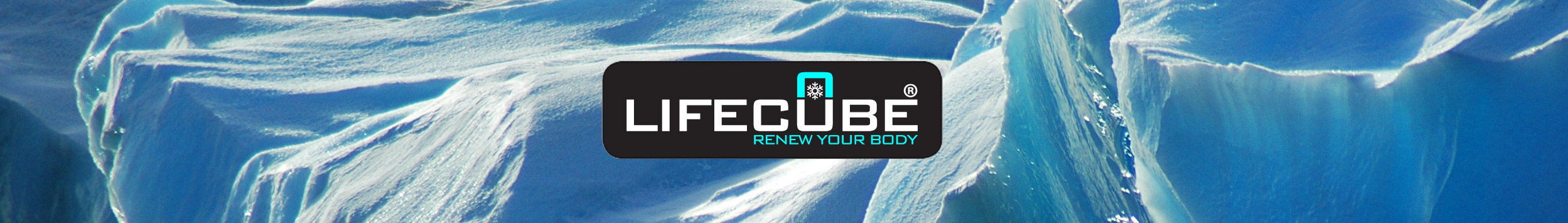 Lifecube Kältekammer Eis
